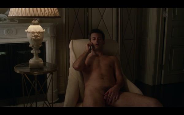 Jonathan Watton Holding His Penis