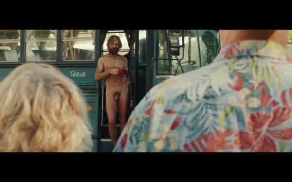 Actor Viggo Mortensen Fully Nude in Captain Fantastic-2