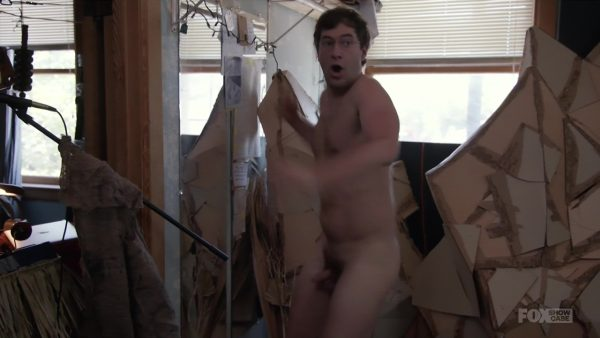 Mark Duplass Full Frontal in Togetherness
